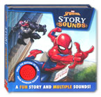 Marvel Spider-Man Story Sound Book with 4 fun sounds!