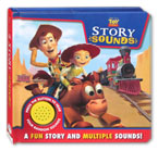 Disney Pixar Toy Story Story Sound Book with 4 fun sounds!