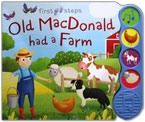 First Steps Old MacDonald had a Farm Sound Board Book with 4 sounds