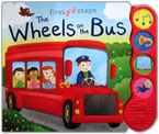 First Steps The Wheels on the Bus Sound Board Book with 4 sounds