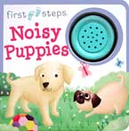 First Steps Noisy Puppies Sound Board Book