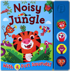 Noisy Jungle Sound Board Book With 4 Fun Sounds!
