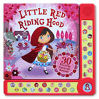 Little Red Riding Hood with 30 Exciting Fairytale Sounds Board Book