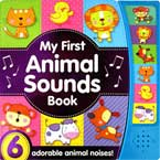 My First Animal Sounds Book with 6 adorable animal noises!