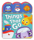 Things That Go Squishy Sound Board Book (Squish, Listen, Laugh)