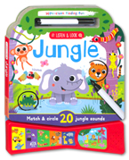 Wipe Clean Finding Fun - Listen & Look Jungle Sound Board Book (Match & Circle 20 Jungle Sounds)