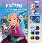 Disney Frozen Movie Theater Storybook & Movie Projector (20 Images to Project)