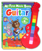 My First Music Book Guitar Listen And Learn with 4 Bonus Song Buttons