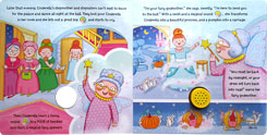 (SALE!!) Create Your Own Noisy Story Cinderella Board Book with over 14 funny sounds