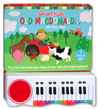 Old MacDonald and other Play Along Songs Piano Board Book (with 7 play along rhymes)