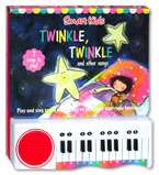 Twinkle Twinkle and other Play Along Nursery Rhymes Piano Board Book (with 7 play along rhymes)