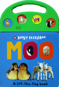 (SALE!!) MOO - Noisy Peekaboo A Lift-the-flap Sound Board Book
