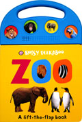 (SALE!!) ZOO - Noisy Peekaboo A Lift-the-flap Sound Board Book