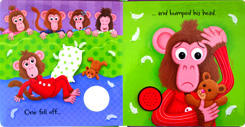 Five Little Monkey Jumping on the Bed Melody Sound Board Book