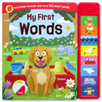 My First Words Super Sound Book with 8 Awesome Sounds And Over 50 First Words