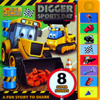 My First JCB Digger Sports Day Super Sound Book with 8 Super Sounds