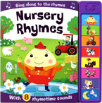 Nursery Rhymes Super Sound Book with 8 Rhymetime Sounds