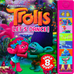 Dreamworks Trolls Let's Dance! Sound Board Book with 8 Super Sound (CLEARANCE SALE)