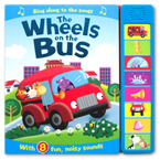 The Wheels on the Bus Super Sound Book with 8 fun, noisy sounds