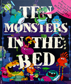 Ten Monsters In The Bed Story Sound Book (Press each page to hear a Slurpy, Burpy, Farty Sound!)