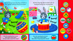 First learning WORDS Tiny Tots Sound Board Book - Listen and Learn with 10 First Sounds (CLEARANCE SALE)