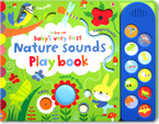 Usborne Baby's Very First Nature Sounds Play Book