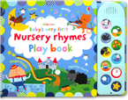 Usborne Baby's Very First Nursery Rhymes Play Book