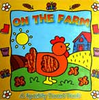 On the Farm - Animal Sparkly Board Book with Sparkling Pictures (Yellow)