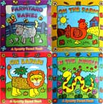 Animal Sparkly Board Book Set with Sparkling Pictures (4 Board Books: Farmyard Babies, On the Farm, In the Jungle, On Safari)