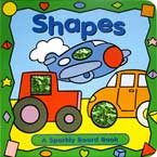 Shapes Sparkly Board Book with Sparkling Pictures
