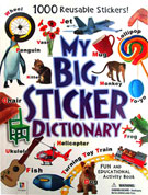 My Big Sticker Dictionary with 1000 Reusable Stickers