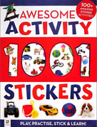 Awesome Activity 1001 Stickers Book