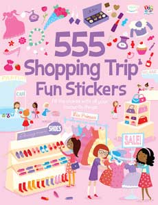 555 Sticker Fun SHOPPING TRIP Sticker Book