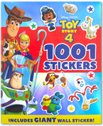 Disney Pixar Toy Story 4 1001 Stickers (Includes Giant Wall Sticker!)