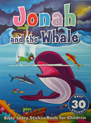 Jonah and the Whale - Bible Story Sticker Book with over 30 stickers
