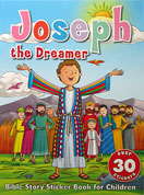 Joseph the Dreamer - Bible Story Sticker Book with over 30 stickers