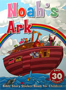 Noah's Ark - Bible Story Sticker Book with over 30 stickers