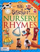 My Big Sticker Book of Nursery Rhymes with 400 Stickers and over 90 nursery rhymes!