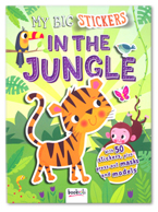 My Big Stickers In The Jungle Book With 50 Stickers, Plus Press-out masks and models