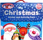 (SALE!) My Christmas Sticker and Activity Pack contains 4 books and over 1000 stickers