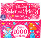 My Fabulous Sticker and Activity Fun Pack with 4 Books and Over 1000 Stickers