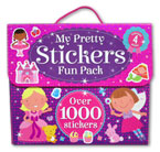 My Pretty Stickers Fun Pack contains 4 books and over 1000 stickers