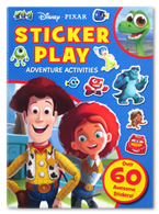 Disney Pixar Sticker Play Adventure Activities (Over 60 Awesome Stickers!)