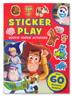 Disney Pixar Toy Story 4 Sticker Play Rootin Tootin Activities (Over 60 Awesome Stickers!)