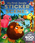 My First JUNGLE Sticker Scenes Book with over 400 stickers