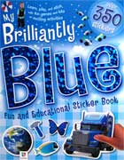 My Brilliantly Blue Fun and Educational Sticker Book with over 350 stickers!