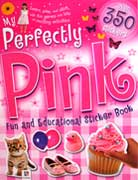 My Perfectly Pink Fun and Educational Sticker Book with over 350 stickers!