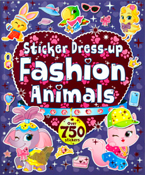 Dress-up Fashion Animals Sticker Book with Over 750 Stickers