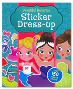 Sticker Dress Up - Beautiful Ballerina (Over 150 Fabulous Stickers)