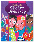 Sticker Dress Up - Best Friends (Over 150 Stylish Stickers)